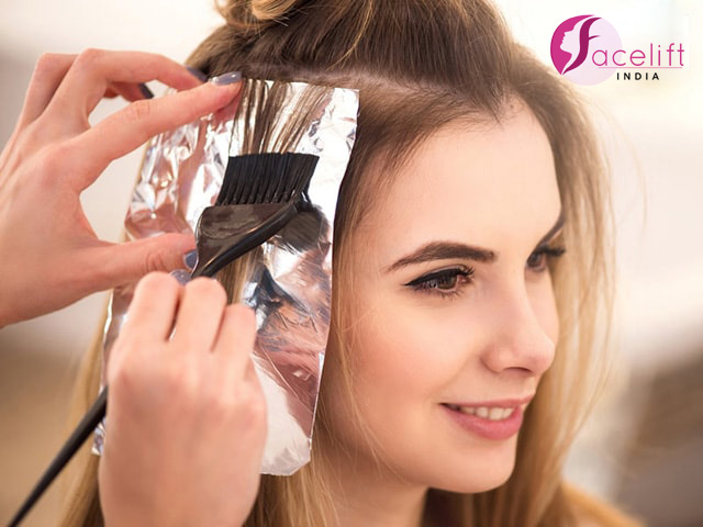 Best hair coloring deals Chandigarh