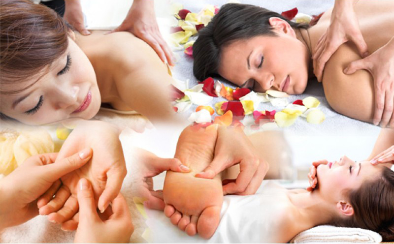 Body massage services at doorstep