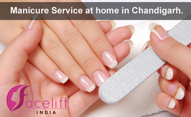 Manicure service at home Chandigarh