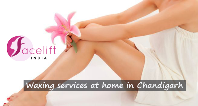 Waxing services at home Chandigarh
