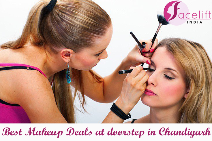 Best makeup deals at doorstep Chandigarh