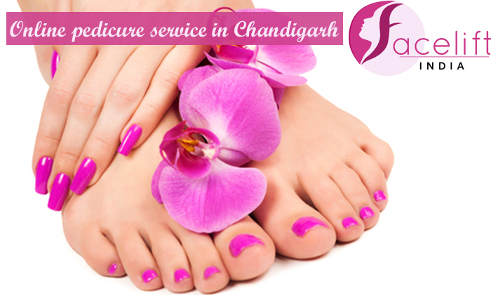 Online pedicure service Chandigarh